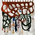 Velvet sculpture#Textile Sculpture#Fiber Art