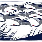 #Litography#Cranes