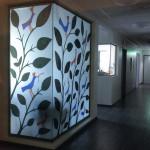 #glass#glasvägg#siluett#papercut#pappersklipp